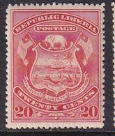 Liberia 1892 Sc 42 Mint Hinged - Liberia
