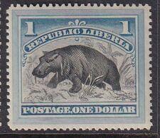 Liberia 1892 Sc 47 Mint Hinged - Liberia