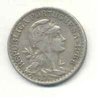 PORTUGAL 1$00 ESCUDO 1966 - Portugal