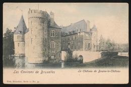 LE CHATEAU DE BRAINE LE CHATEAU   COULEUR - Braine-le-Château