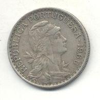 PORTUGAL 1$00 ESCUDO 1968 - Portugal