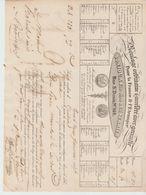 PARIS: BONJOUR & VERRIER, Ent. Roulage France & Etranger, R. St Denis / L. De Voiture De 1837 - Transporte