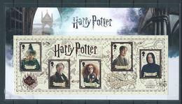 GROSSBRITANNIEN GRANDE BRETAGNE GB 2018 M/S HARRY POTTER MNH SG MS4151 MI B117-4280-84 YT F4700-04 SC 3790SH - Unused Stamps