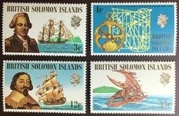 Solomon Islands 1971 Ships & Navigators MNH - Iles Salomon (...-1978)