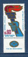 Israël - YT N° 378 - Neuf Sans Charnière - 1969 - Unused Stamps (with Tabs)