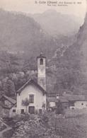 209/ S. Carlo ( Chiesa) Val Bavona, Fot. Cap. Rezzonico 1917 - TI Tessin