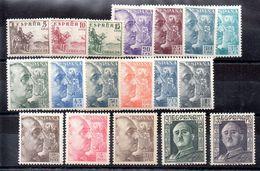 España Serie Nº Edifil 1044/61 ** Buen Centraje - 1931-Today: 2nd Rep - ... Juan Carlos I