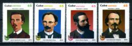 Cuba 2014 / Leaders UPAEP MNH Líderes / C8727   5-17 - Emisiones Comunes