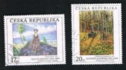 REP. CECA (CZECH REPUBLIC) - SG 385.386 - 2003 ART    -   USED - República Checa