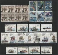 Australian Antarctic Territory(02) 1959-79. 22 Different Stamps, Mint & Used. All Hinged. - Australian Antarctic Territory (AAT)