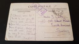 Courtrai - Feldpost - Field Post Office - Censure - Militaria