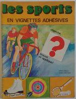 Album Chromo - 110 - Les Sports En Vignettes Adhésives - Avec Images Complet - édition Lito Paris - Sammelbilder, Sticker
