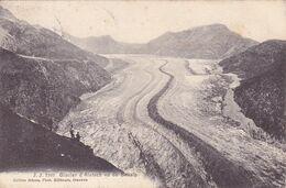 219/ J.J. Glacier D'Aletsch Vu De Bellalp, 1910 - VS Wallis