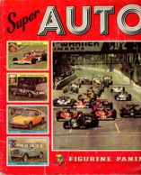 Album Chromo - 115 - Super AUTO - édition Panini - 1977 - Très Bon état - Incomplet - Auto