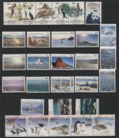 Australian Antarctic Territory(03) 1983-89. 29 Different Stamps, Mint & Used. All Hinged. - Australian Antarctic Territory (AAT)