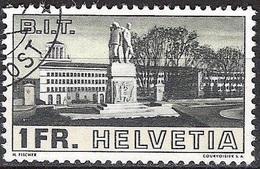 Schweiz Suisse 1938: Bâtiment Du BIT-Gebäude Zu 214 Mi 324 Yv 310 Mit Stempel * FELDPOST * (Zumstein CHF 30.00) - Usati