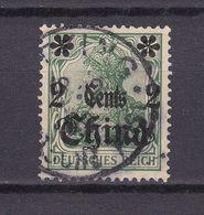 Deutsche Post In China - 1905 - Michel Nr. 29 - Gestempelt - Offices: China
