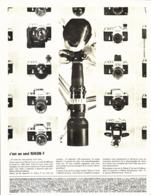 """PUB  APPAREILS PHOTOGRAPHIQUE  """" NIKON F  """"   1967  ( 1 ) - Autres"""