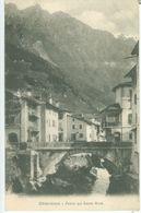 Chiavenna; Ponte Sul Fiume Mera - Non Viaggiata. (C. Caligari - Chiavenna) - Sondrio