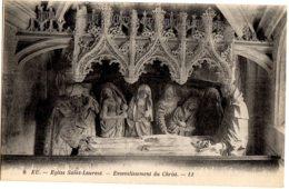 8- EU - Eglise Saint-Laurent - Ensevelissement Du Christ - Eu