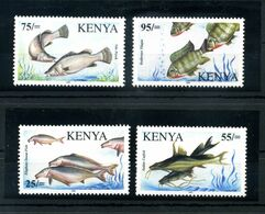 2006 KENYA KENIA FISH OF LAKE VICTORIA SET MNH ** COMPLETO 4 VALORI VERY RARE - Kenya (1963-...)