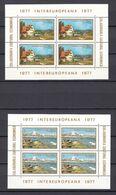 Europa-CEPT - Mitläufer - Rumänien - 1977 - Block 141/142 - Postfrisch - 1977
