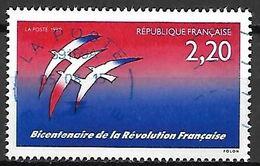 FRANCE     -    1999     Bicentenaire De La Révolution Française.  /  Oiseaux  /  Folon      -     Oblitéré - Franz. Revolution