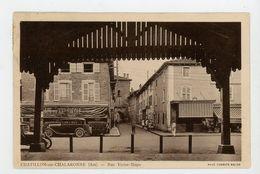 CPA: 01 - CHATILLON-SUR-CHALARONNE - RUE VICTOR HUGO - - Châtillon-sur-Chalaronne