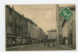 CPA: 01 - CHATILLON-SUR-CHALARONNE - RUE PRESIDENT CARNOT - - Châtillon-sur-Chalaronne