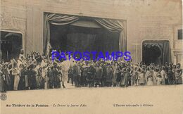 139749 FRANCE THE SOLEMN ENTRY IN ORLEANS AT THE THEATER OF PASSION POSTAL POSTCARD - Unclassified