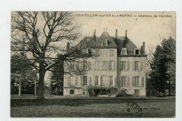 CPA: 01 - CHATILLON-SUR-CHALARONNE - CHATEAU DE CLERDAN - - Châtillon-sur-Chalaronne