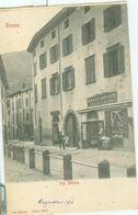 Tirano 1910; Via Stelvio  - Non Viaggiata. (Tipografia Bonazzi - Tirano) - Sondrio