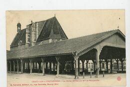 CPA: 01 - CHATILLON-SUR-CHALARONNE - LES HALLES EDIFFIÉES PAR Mlle DE MONTPENSIER - - Châtillon-sur-Chalaronne