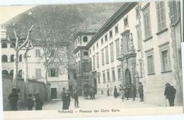Tirano; Palazzo Dei Conti Salis - Non Viaggiata. (Ditta G. Bonazzi - Tirano) - Sondrio