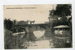 CPA: 01 - CHATILLON-SUR-CHALARONNE - PONT DE LA CHALARONNE - - Châtillon-sur-Chalaronne