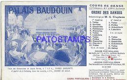 139755 FRANCE PUBLICITY PALAIS BAUDOUIN POSTAL POSTCARD - Unclassified