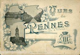 Vues De Rennes Oberthur Album De 12 Grandes Photographies 14x20cm - Riproduzioni