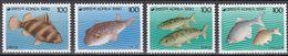 Tr_ Korea Süd 1990 - Mi.Nr. 1623 - 1626 - Postfrisch MNH - Tiere Animals Fische Fishes - Poissons
