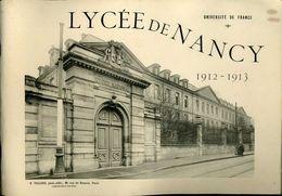 Lycée De Nancy 1912 1913 Vallois Album De 39 Grandes Photos 19x27cm - Riproduzioni