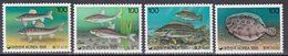 Tr_ Korea Süd 1991 - Mi.Nr. 1669 - 1672 - Postfrisch MNH - Tiere Animals Fische Fishes - Poissons