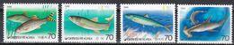 Tr_ Korea Süd 1986 - Mi.Nr. 1461 - 1464 - Postfrisch MNH - Tiere Animals Fische Fishes - Poissons