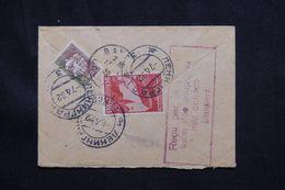 U.R.S.S. - Enveloppe En Recommandé De Leningrad Pour La France En 1932, Affranchissement Au Verso - L 66006 - 1923-1991 USSR