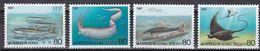 Tr_ Korea Süd 1987 - Mi.Nr. 1527 - 1530 - Postfrisch MNH - Tiere Animals Fische Fishes - Poissons