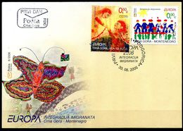 Europa 2006 - Montenegro Crna Gora FDC - 2006