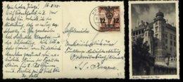 WW II GG Generalgouvernement Polen Postkarte AK Krakau: Gebraucht Krakau - SS Kaserne Oranienburg L940, Bedarfserhaltu - Duitsland
