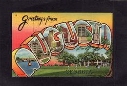 95215    Stati  Uniti,  Greetings  From  Augusta,  Georgia,  VG - Augusta