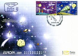 Europa 2009 - CRNA GORA Montenegro FDC - 2009