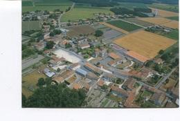CPSM  GF - GERMIGNAC (Archiac) - Vue Aérienne - Le Bourg - Non Circulée - Autres Communes