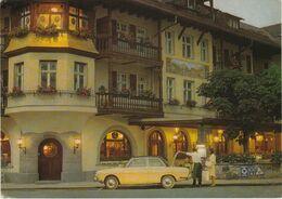 Bavière GARMISCH Partenkirchen Hotel MARKTPLAZ Adac Auto Audi ? VOIR DOS - Garmisch-Partenkirchen