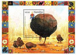 Namibia - 1997 Christmas Guineafowl MS (**) # SG 748 - Gallinacées & Faisans